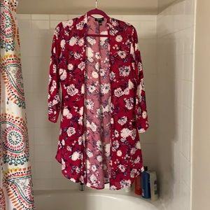 Torrid floral kimono